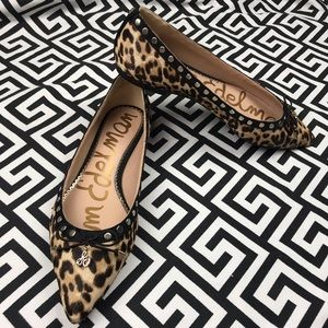 •Sam Edelman• leopard leather cow hair/fur Ralf